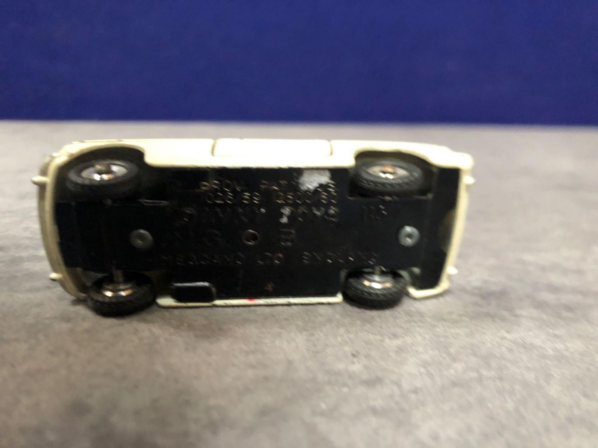 Dinky 113 MGB Cream Red Interior 1962-1968 Unboxed missing driver very good model some wear but - Image 4 of 4