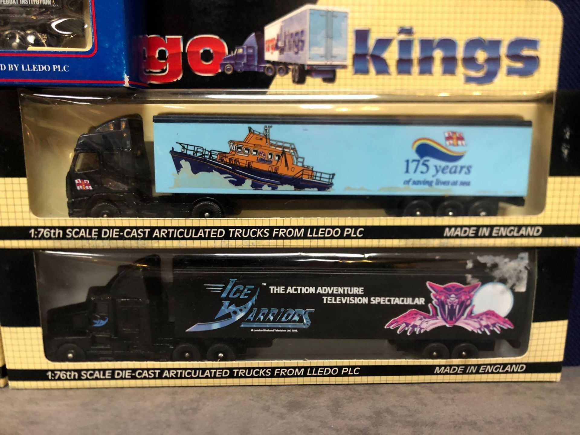 4x Lledo Cargo King Diecast Trucks Comprising Of; Lledo Cargo Kings Volvo FH12 Articulated Truck. - Image 2 of 4
