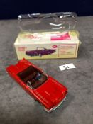 Dinky (Norev Edition)Diecast #555 Ford Thunderbird In Red mint in box