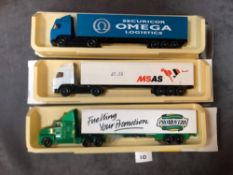 3x Lledo Pro Mover Diecast Trucks Comprising Of; #Lledo Promotional Models PM119-20A - Promovers