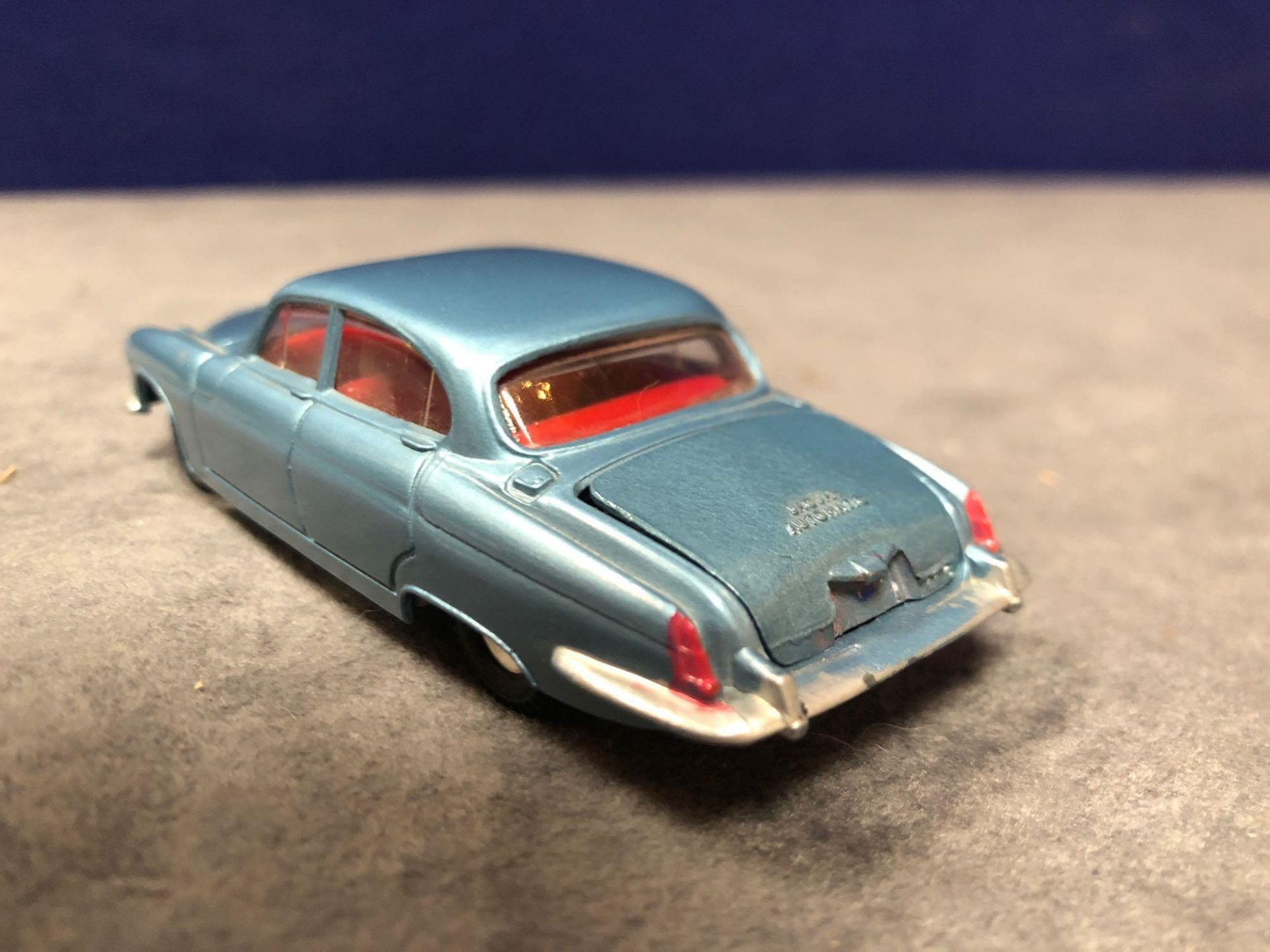 Dinky #142 Jaguar Mark X In Blue With Red Interior 1962-1968 Unboxed Mint lovely model - Image 3 of 4