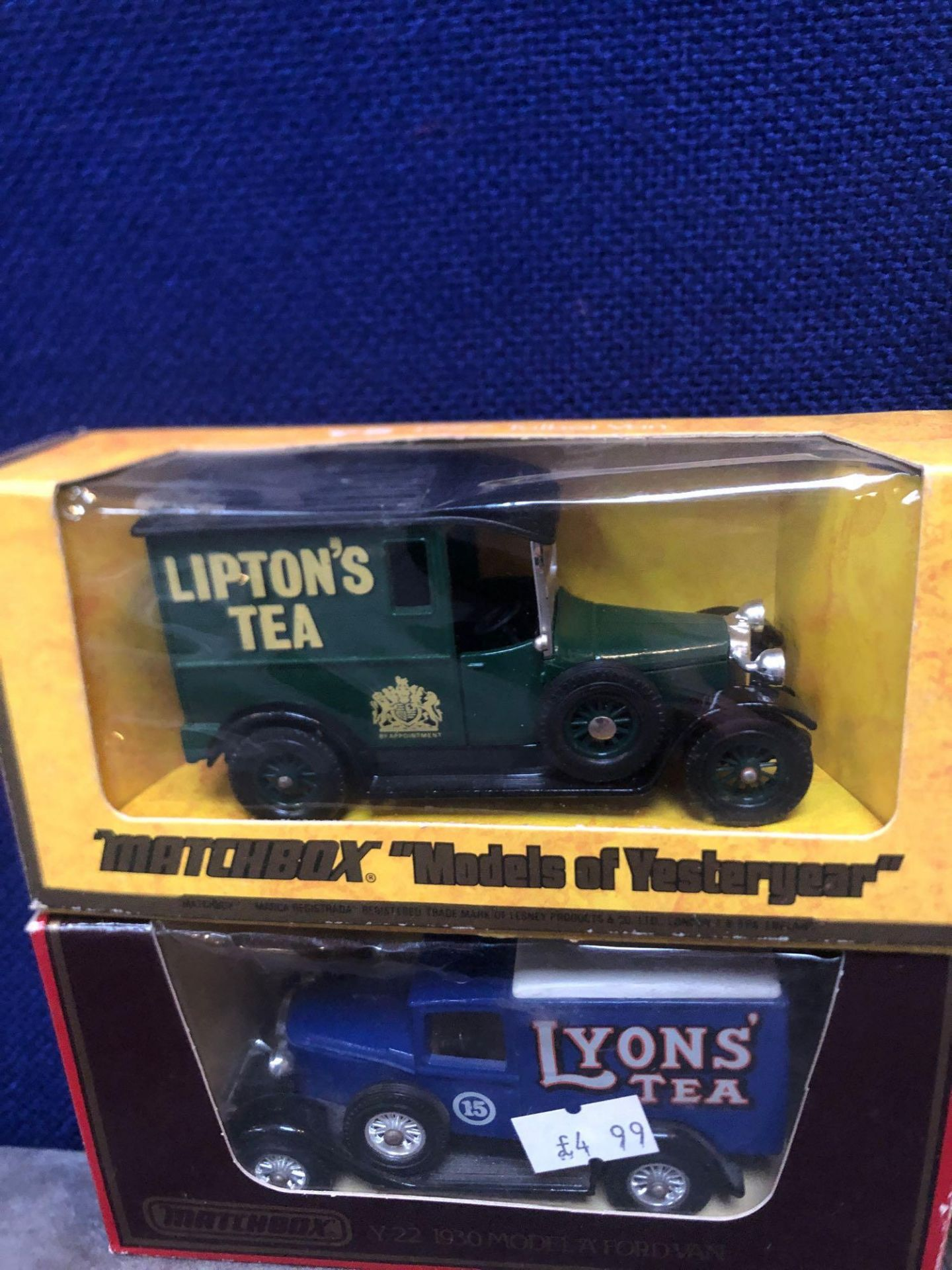 7x Diecast Vehicles Advertising Tea, All In Individual Boxes - Image 4 of 4