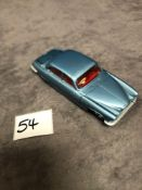 Dinky #142 Jaguar Mark X In Blue With Red Interior 1962-1968 Unboxed Mint lovely model