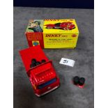 Dinky #425 Bedford TK Coal Wagon Red - Plastic Wheels. Comes With 6 Sacks Of Coal and Scales mint