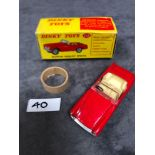 Dinky #112 Austin Sprint In Red With Inner Packaging mint in excellent box1965-1970