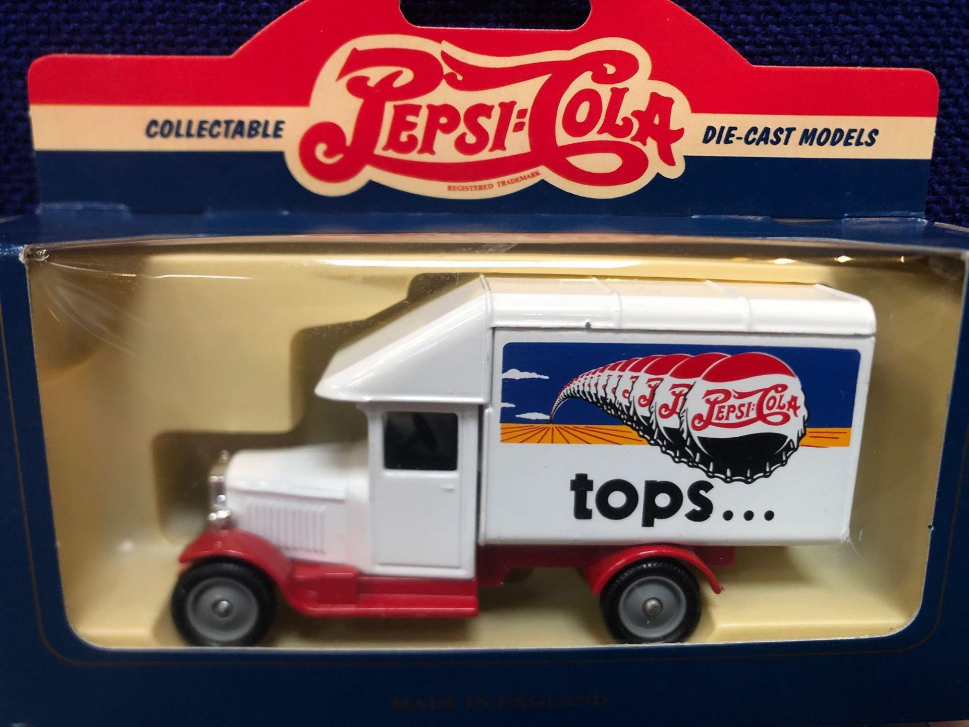 5x Lledo Diecast Pepsi Cola Advertising Vehicles Each One Boxed. - Image 4 of 4