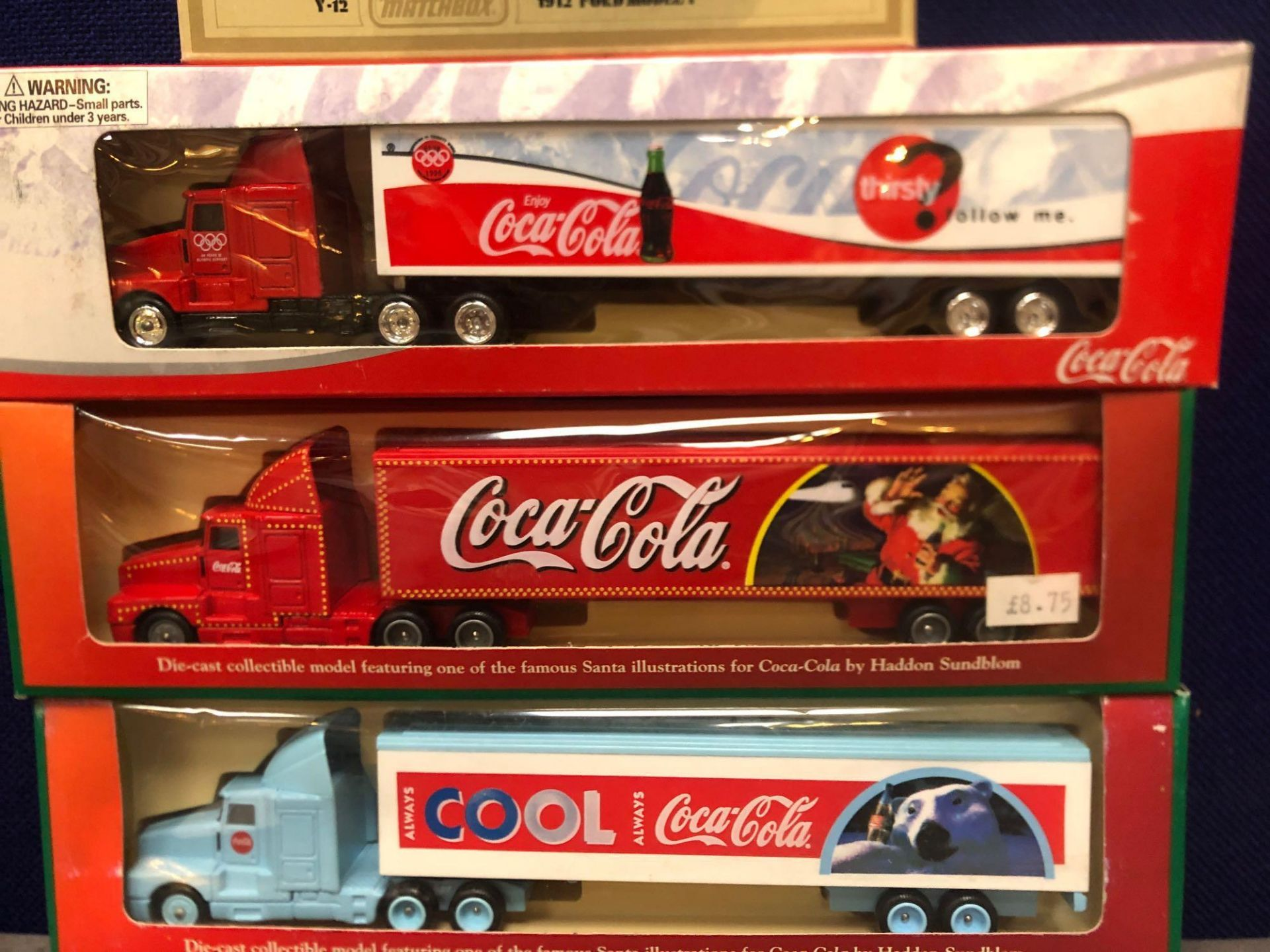 4x Lledo Diecast Coca Cola Trucks Comprising Of; Each One Boxed. - Image 2 of 3