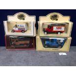 4x Diecast Vehicles Advertising Kleenex, Saxa Table Salt, Tate And Lyle Sugar, Cerelos Table Salt.