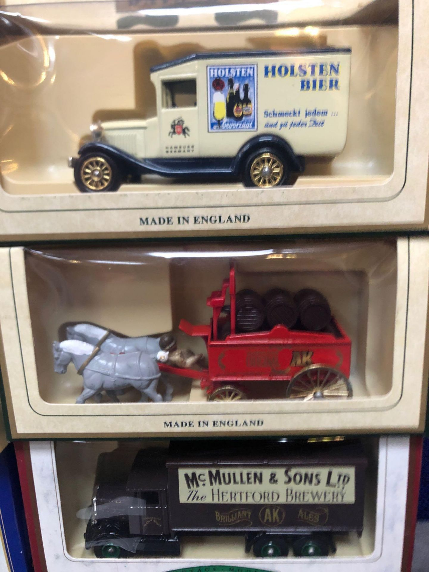 9x Diecast Vehicles All Advertising Alcohol With Individual Boxes - Image 4 of 4