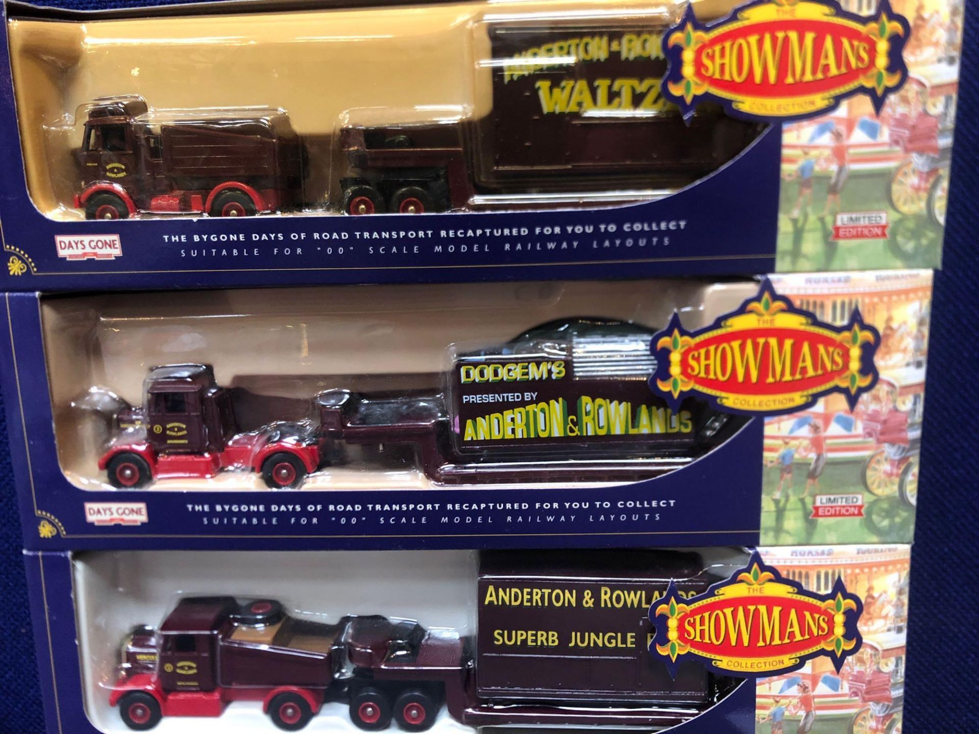 3 X Days Gone By Diecast The Showman's Collection Limited Edition Fairground Vehicles In Boxes - Image 2 of 2