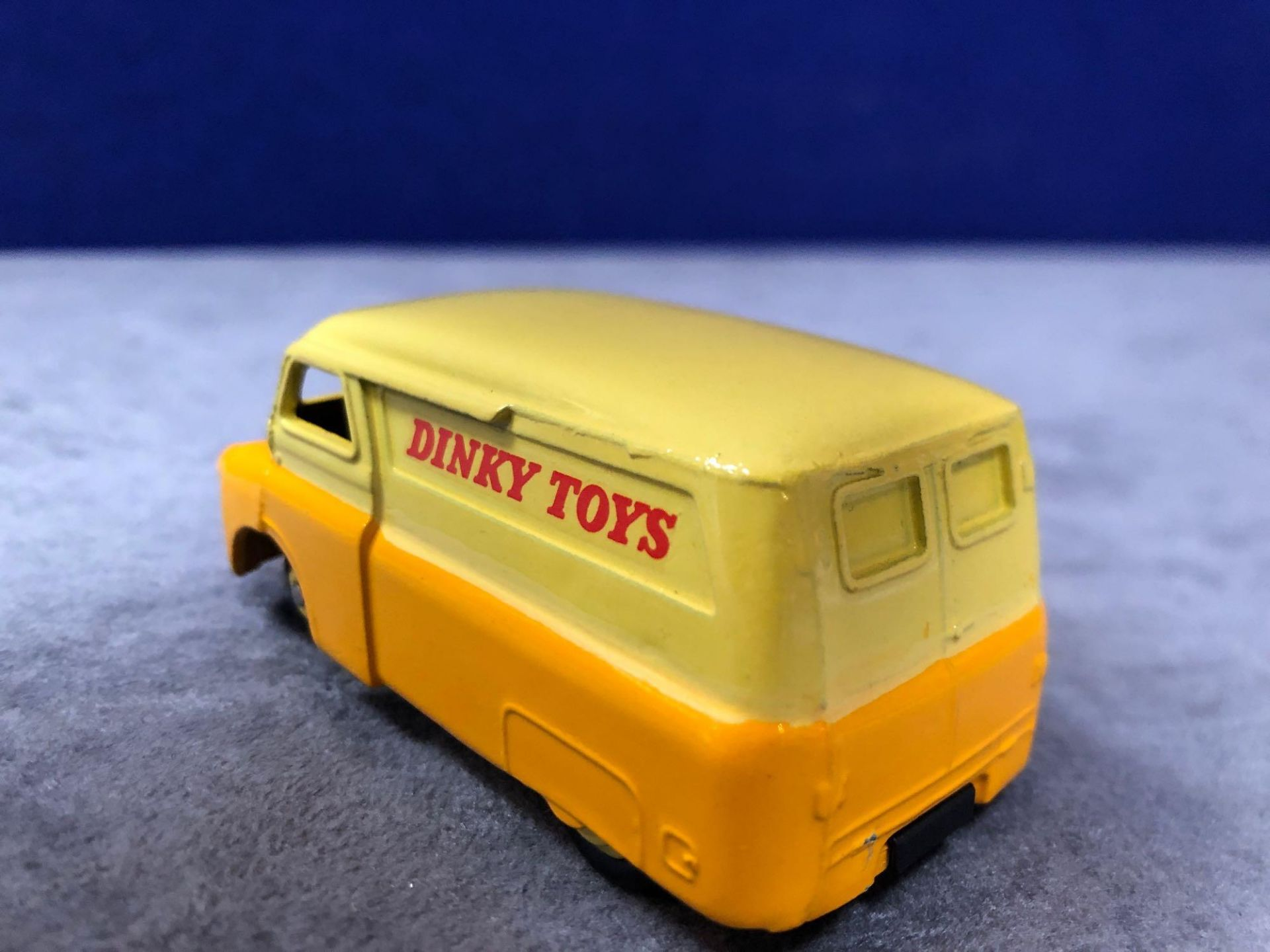 Dinky #482 Bedford Van Yellow/Orange (Dinky Toys) - Yellow Wheels and Silver Trim. 1956 - 1960 - Image 3 of 4