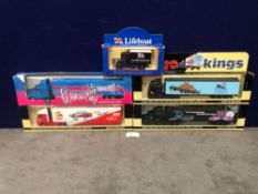 4x Lledo Cargo King Diecast Trucks Comprising Of; Lledo Cargo Kings Volvo FH12 Articulated Truck.