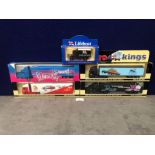 4x Lledo Cargo King Diecast Trucks Comprising Of; Lledo Cargo Kings Volvo FH12 Articulated Truck.