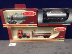 3x Diecast Vehicles Advertising Cement In Boxes
