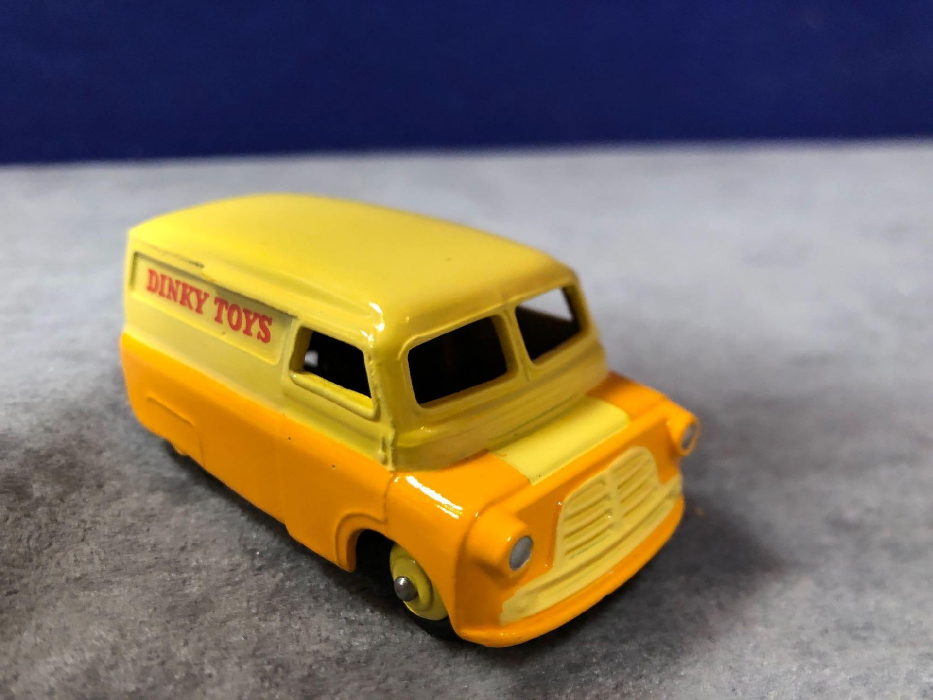 Dinky #482 Bedford Van Yellow/Orange (Dinky Toys) - Yellow Wheels and Silver Trim. 1956 - 1960 - Image 2 of 4