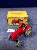 Dinky #300 Massey Harris Tractor mint in near mint slightly soiled box 1966-1971