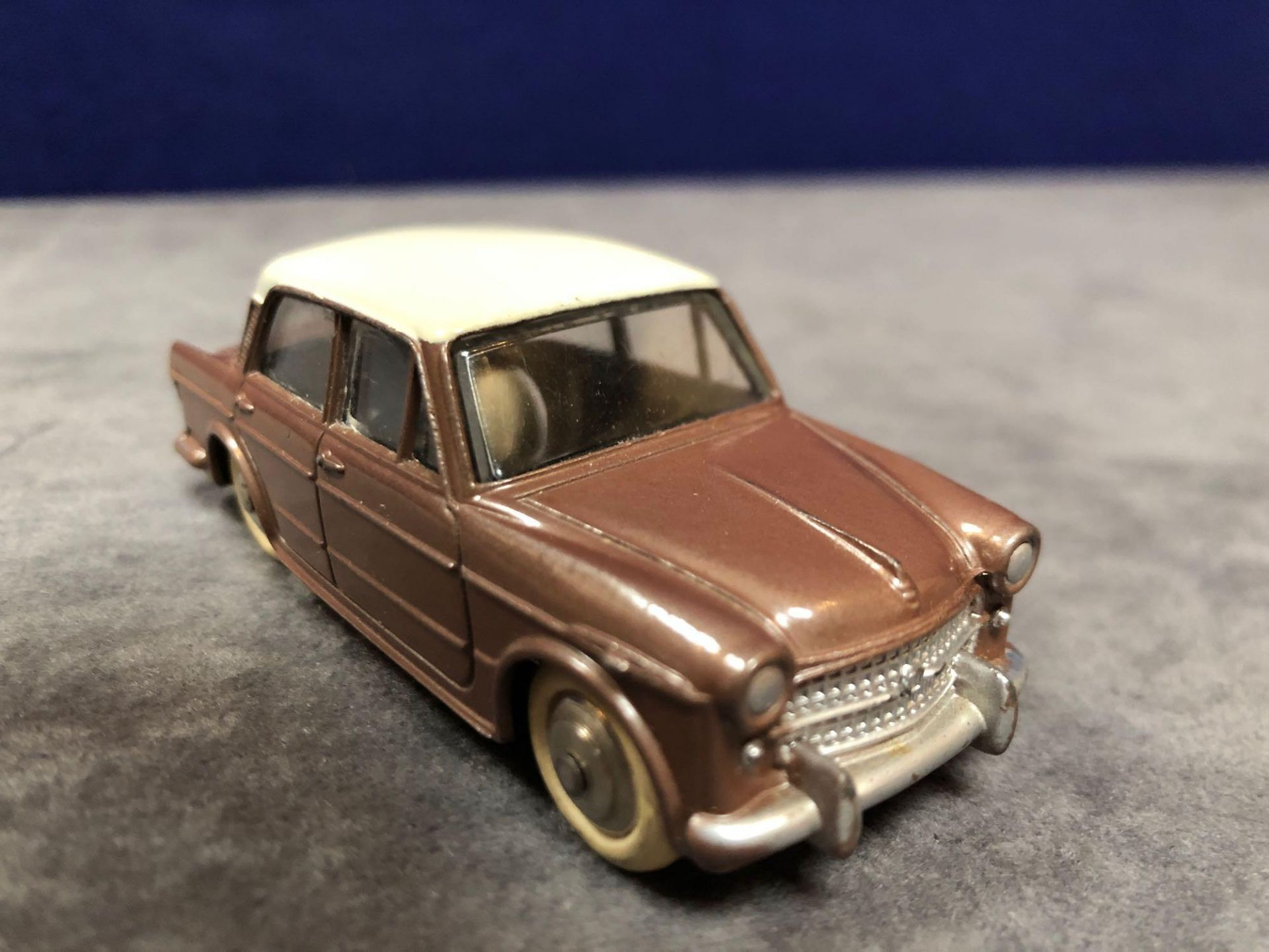 Dinky (France) Diecast #531 Fiat 1200 Grand Vue Brown/Cream - Silver Detailing. In Brown With A - Image 2 of 3