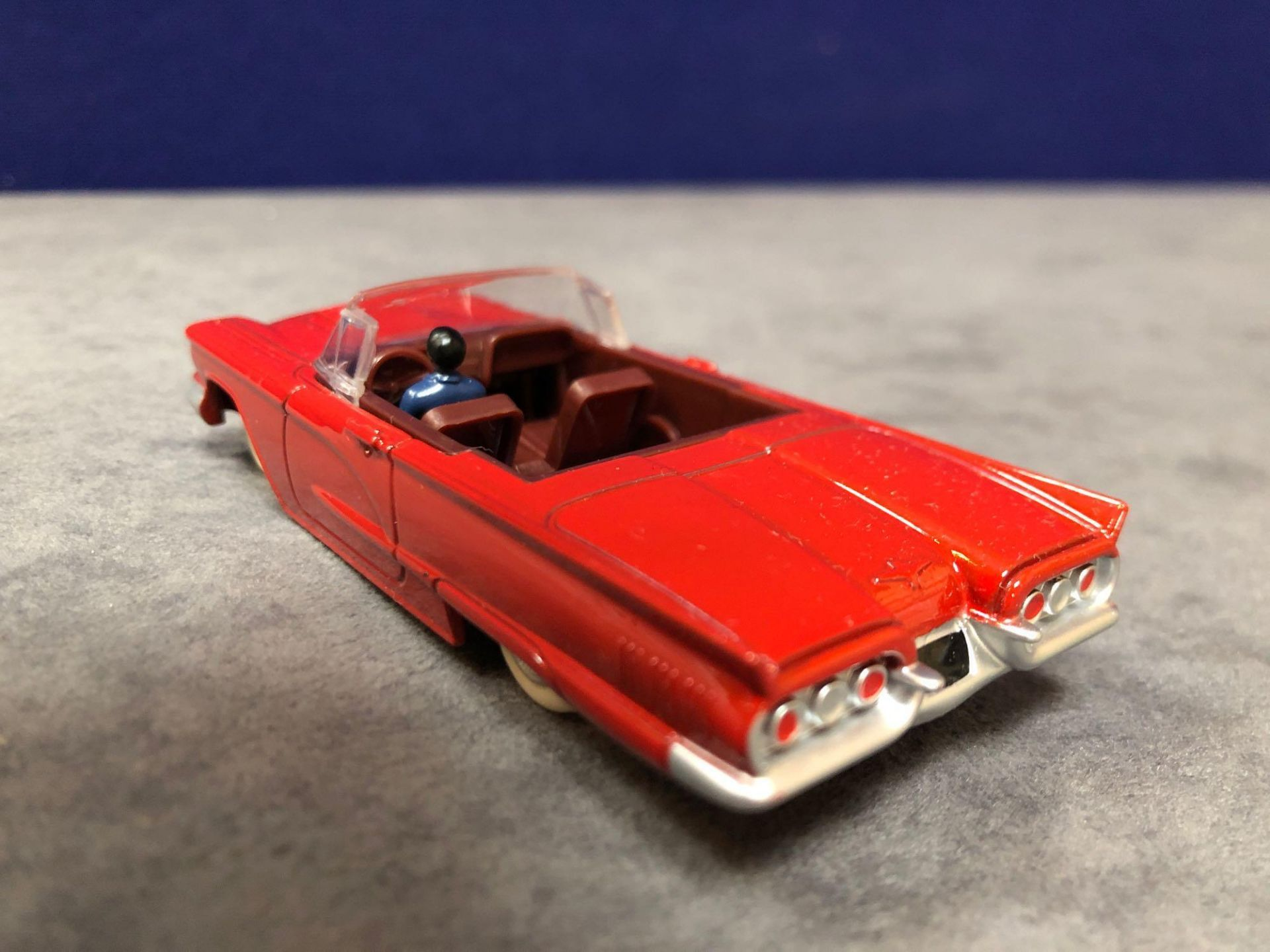 Dinky (Norev Edition)Diecast #555 Ford Thunderbird In Red mint in box - Image 3 of 3