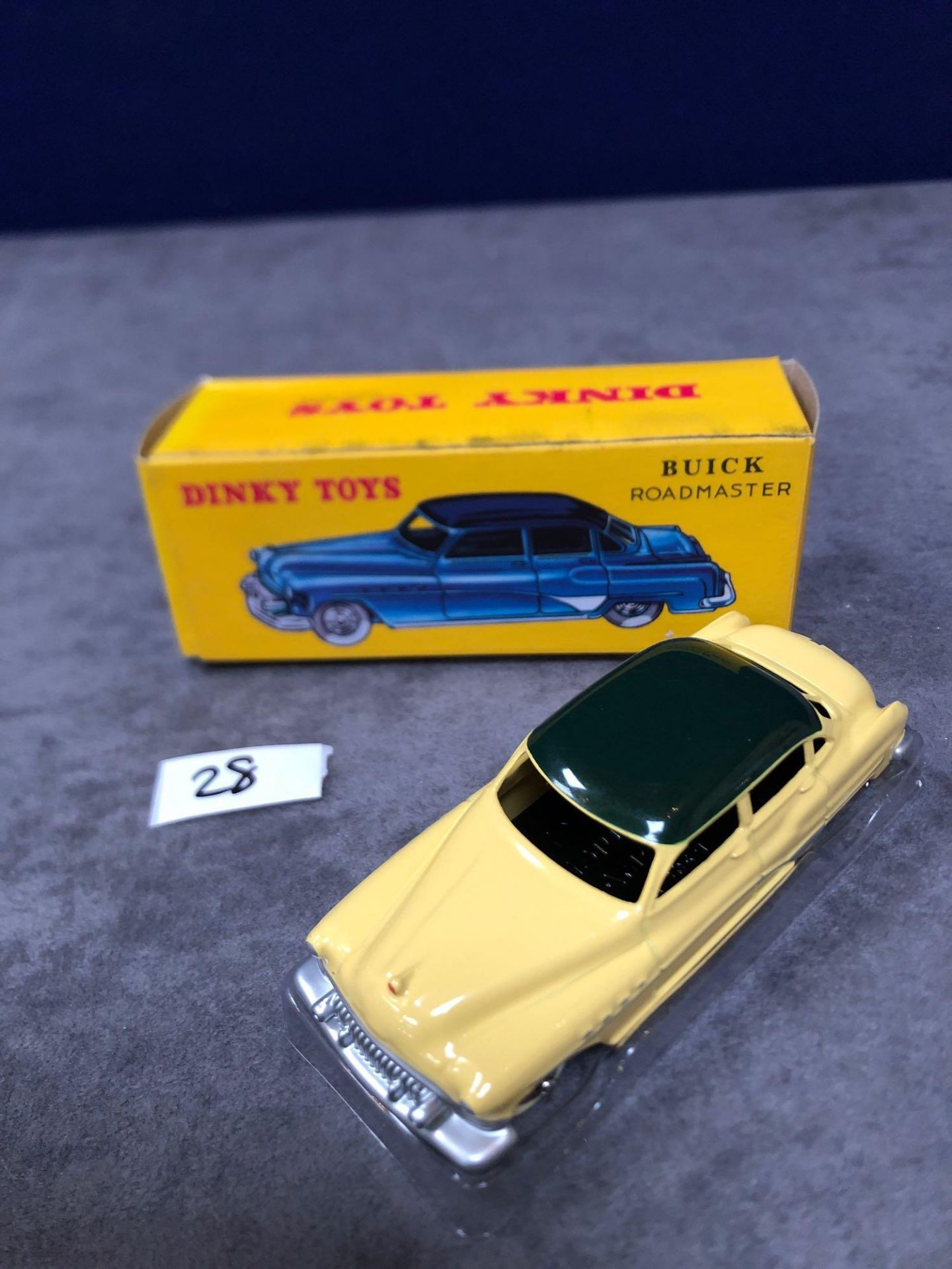 Dinky (Norev Edition) Diecast #24V Buick Road Master Mint In A Sealed Box 1954-1956