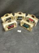 5x Lledo Diecast Vehicles Individually Boxed Advertising Stoneleigh Toy Extravaganza / Walsall