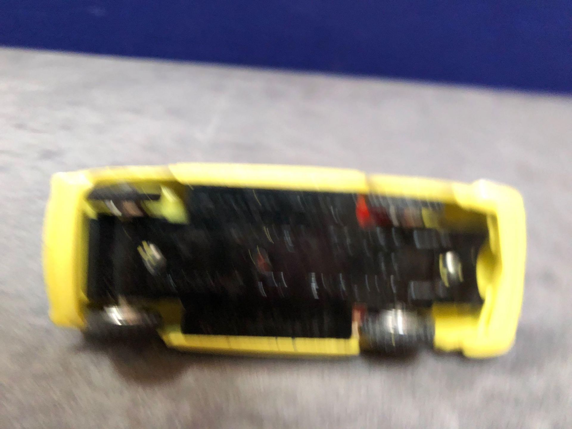 Dinky #185 Alfa Romeo 1900 Super Sprint Yellow - Red Interior Virtually Mint (4 Tiny Box Chips) In A - Image 4 of 4