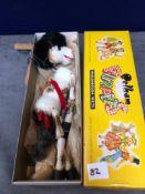 Vintage Pelham Puppets Marionette Horse In A Box