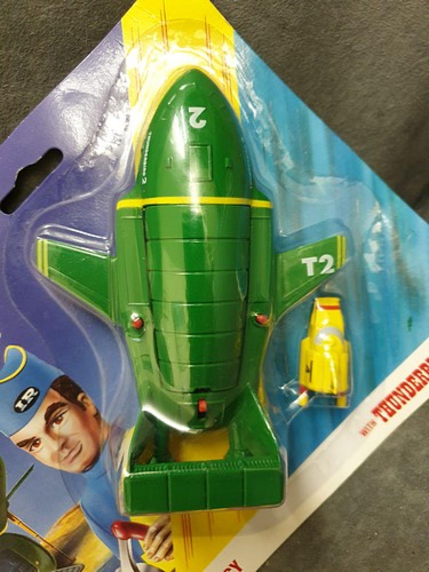 Matchbox Thunderbirds #TB-002 Virgil Tracy's Thunderbird 2 On Unopened Card - Image 2 of 2