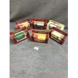 6x Models Of Yesteryear Diecast Vehicles Individually Boxed Advertising Eveready / Joseph Lucas