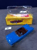 Dinky (Norev Edition) Diecast #555 Ford Thunderbird In Blue Mint In Box 1966