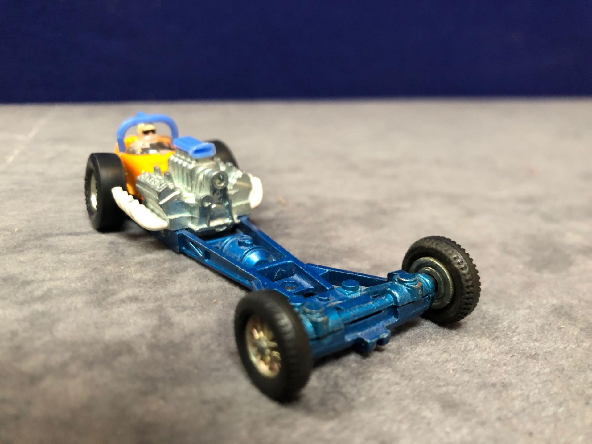 Dinky #228 Super Sprinter Blue And Orange - Exposed Engine And Speed Wheels. Very God Model In A - Image 2 of 4
