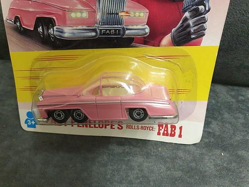 Matchbox Thunderbirds #TB-005 Lady Penelope's Rolls Royce FAB1 On Unopened Card - Image 2 of 2