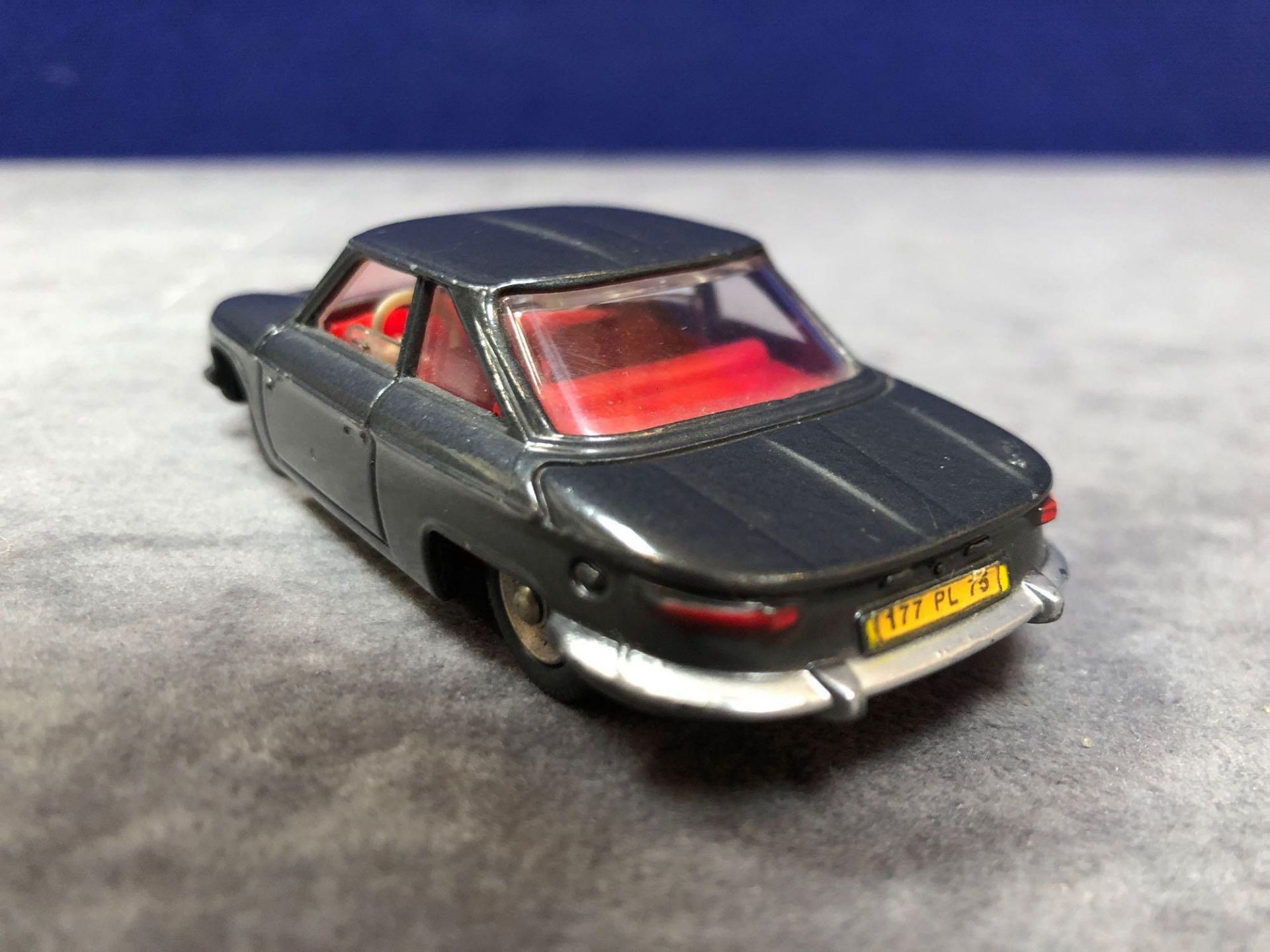 Dinky (France) Diecast #524 Panhard CT24 Coupe In Grey Mint In A Top Quality Repro Box 1964-1966 - Image 3 of 4