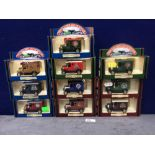 10x Diecast The Days Gone Limited Edition The Golden Age Of Steam Vehicles In Boxes