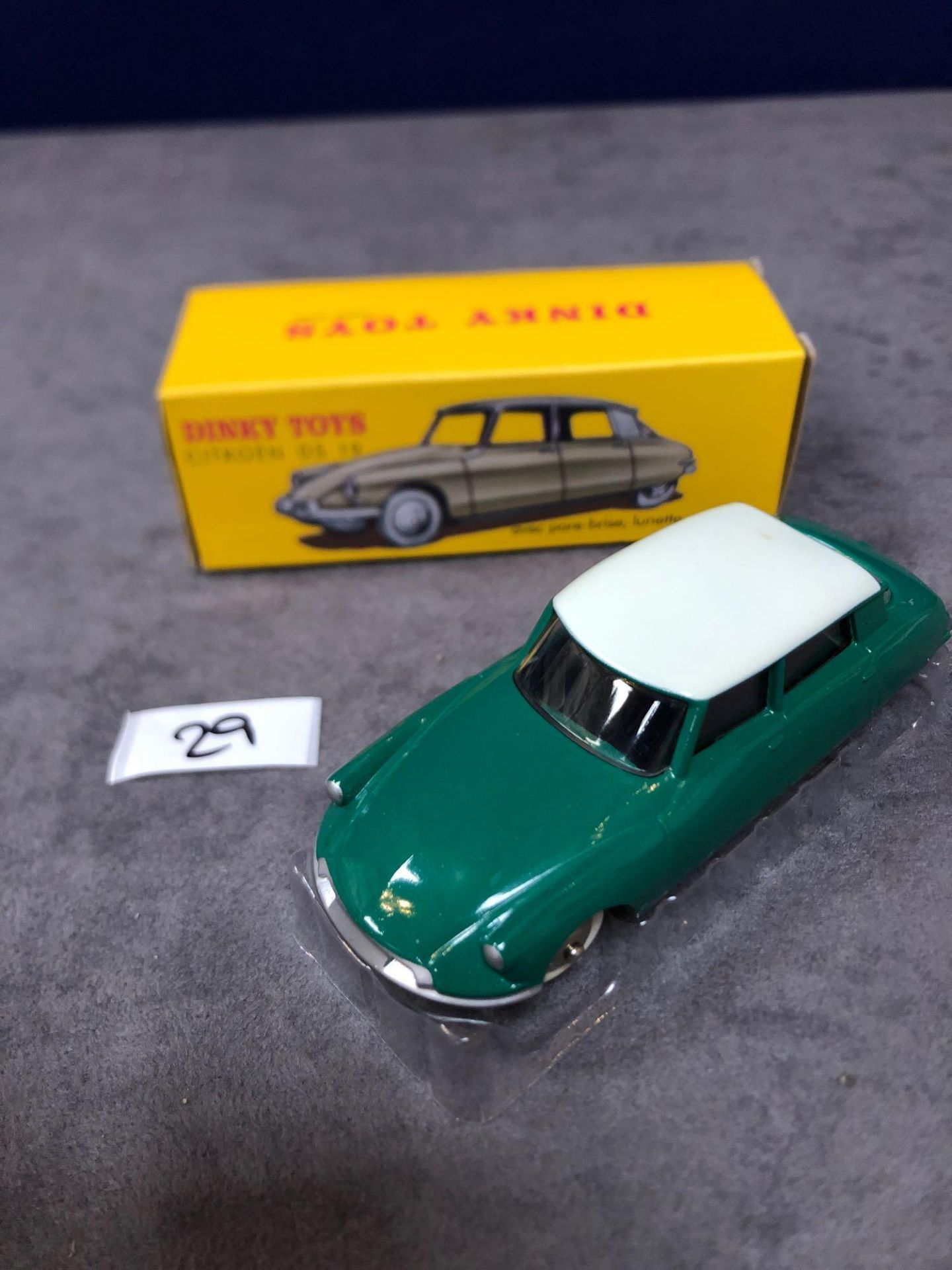 Dinky (Norev Edition) #24CP Citron DS19 Mint In Box 1958-1959