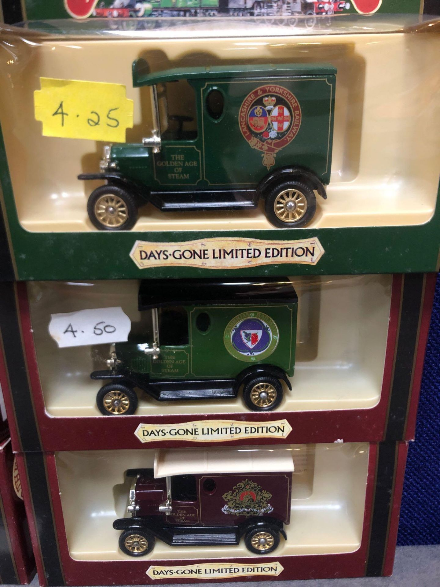 10x Diecast The Days Gone Limited Edition The Golden Age Of Steam Vehicles In Boxes - Image 4 of 4