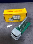 Dinky France #33C Simca Glass Truck Grey/Dark Green - Renumbered 579 Mint In Very Good Firm Box
