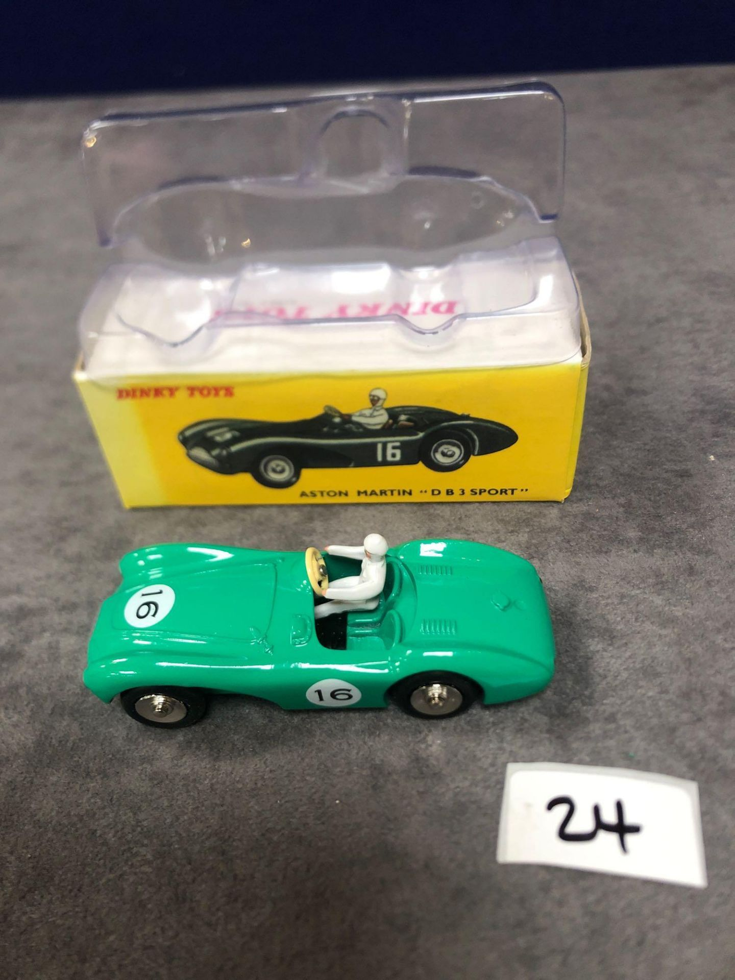Dinky (Norev Edition) Diecast #506 Aston Martin Diecast #506 Aston Martin DB3 Sport Mint In Box