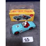 Dinky (Norev Edition) Diecast #111 Triumph TR2 Sports Mint In Box 1956-1959