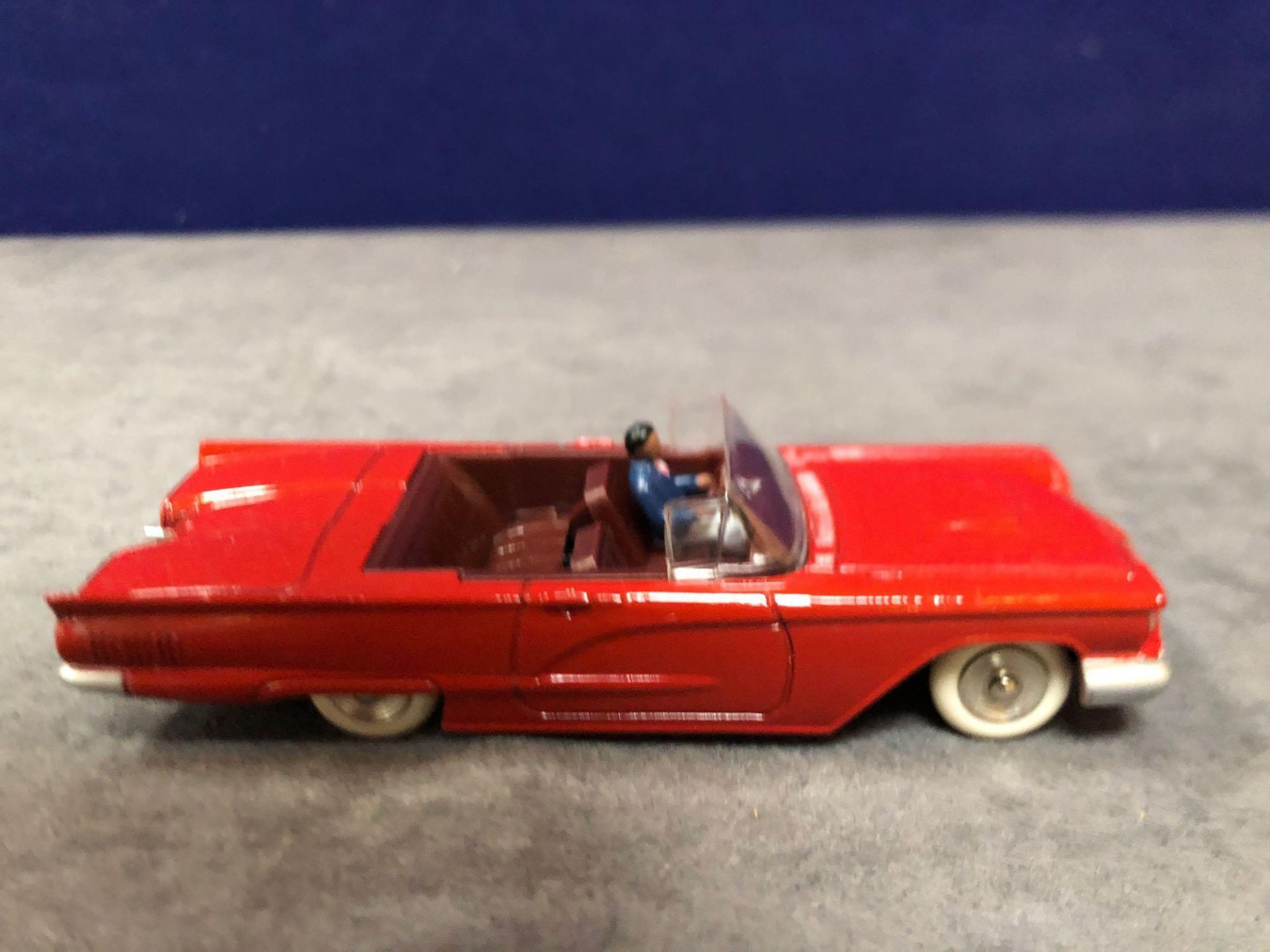 Dinky (Norev Edition)Diecast #555 Ford Thunderbird In Red Mint In Box 1966 - Image 2 of 3