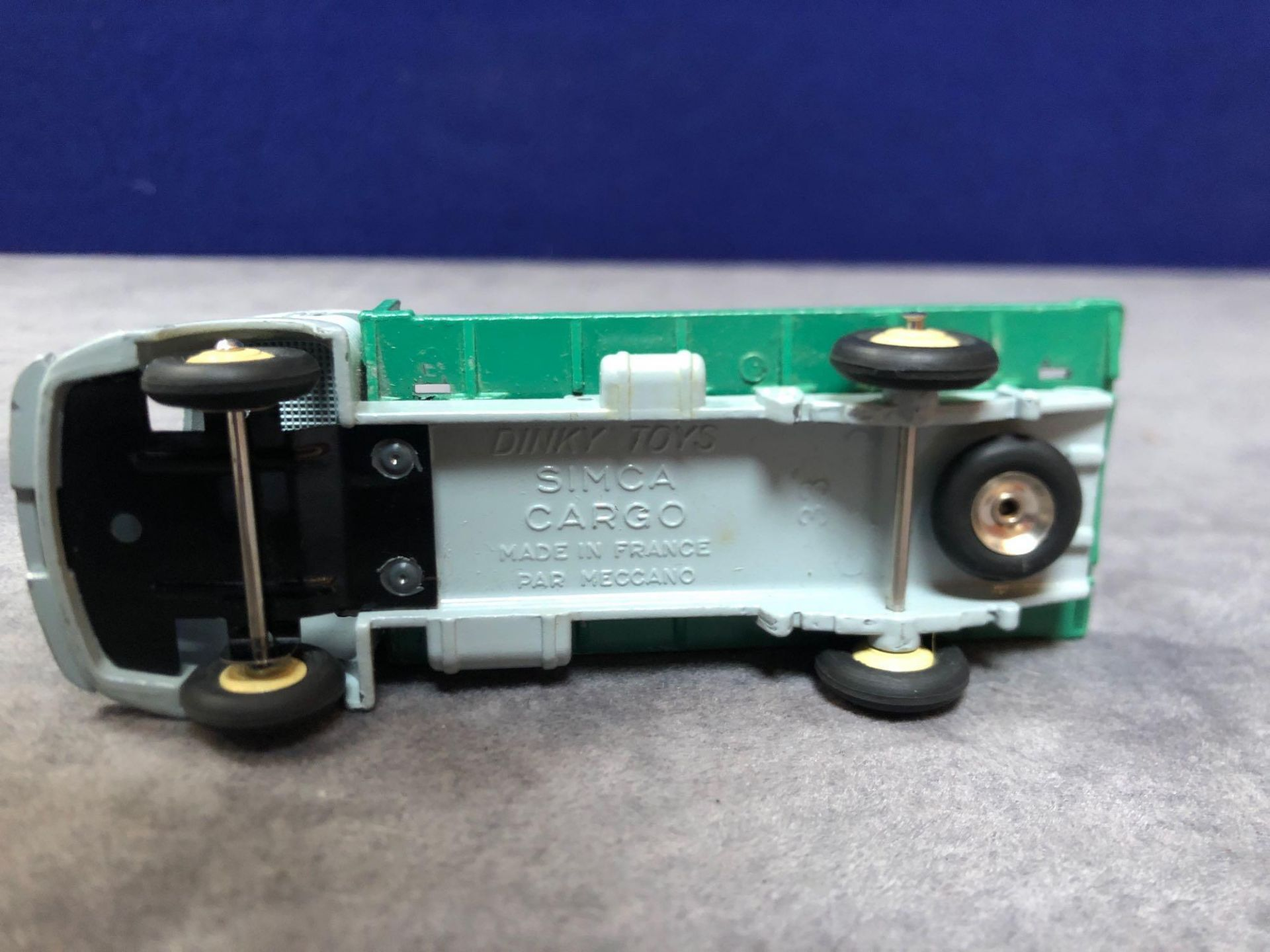 Dinky France #33C Simca Glass Truck Grey/Dark Green - Renumbered 579 Mint In Very Good Firm Box - Image 4 of 4