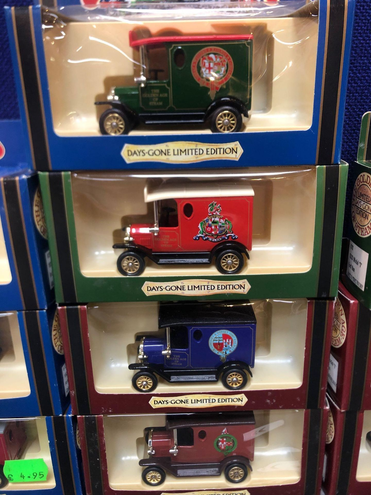 10x Diecast The Days Gone Limited Edition The Golden Age Of Steam Vehicles In Boxes - Image 3 of 4