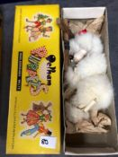 A Quite Hard To Find Vintage Pelham Puppets Marionette White Poodle In A Box