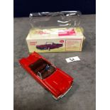 Dinky (Norev Edition)Diecast #555 Ford Thunderbird In Red Mint In Box 1966