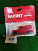 Husky Models Diecast #20 Ford Thames Van On Opened Bubble Card