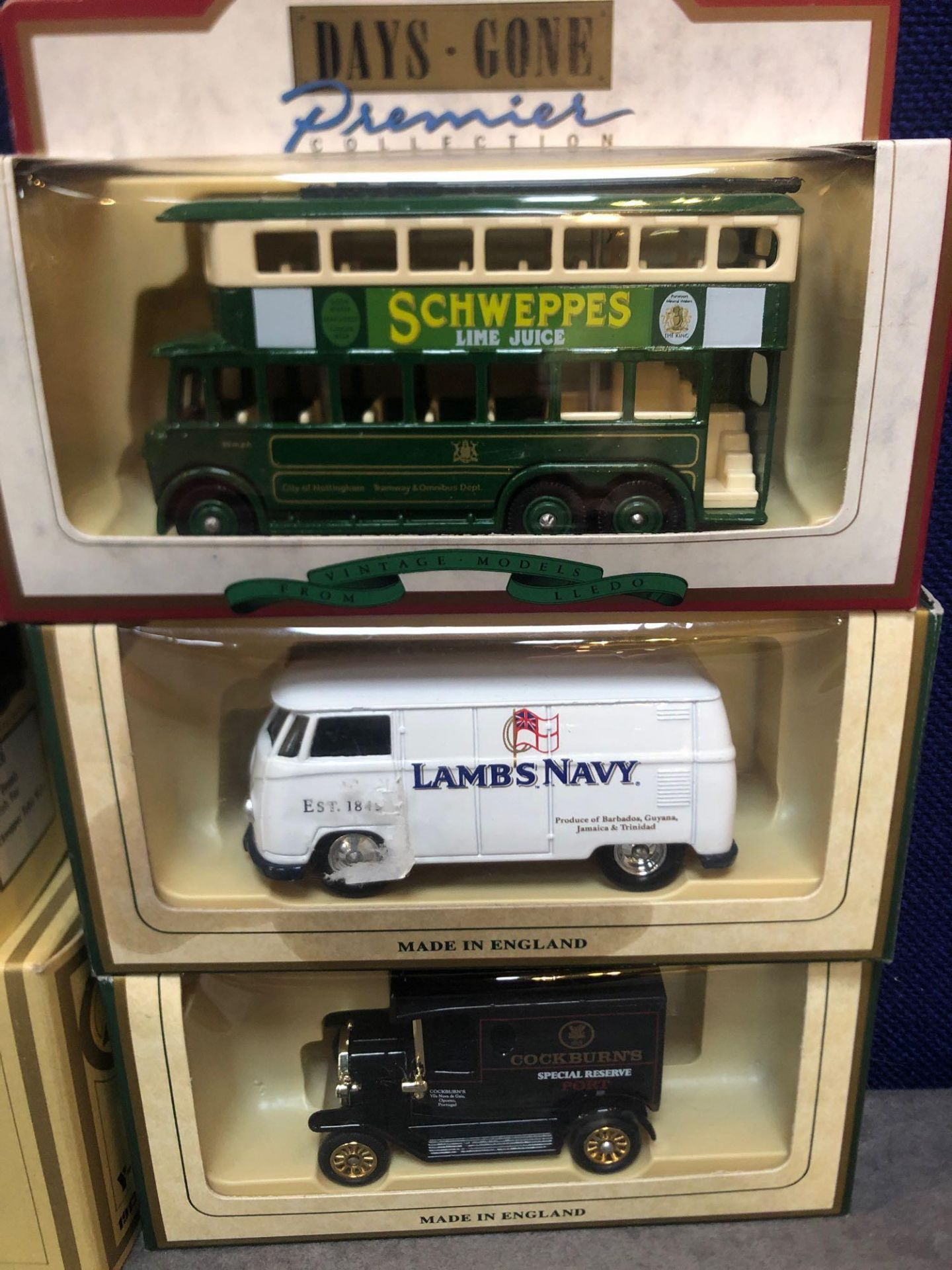 9x Diecast Vehicles All Advertising Drinks In Separate Boxes. - Image 4 of 4
