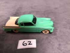 Dinky #169 Studebaker Golden Hawk Green/Tan - Cream Hubs And White Tyres 1959 - 1963 Unboxed