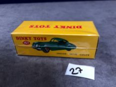 Dinky (Norev Edition) Diecast #157 Jaguar XK120 Coupe Mint In A Sealed Box 1954-1957