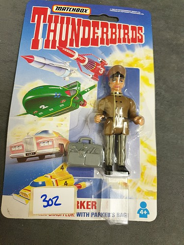 Matchbox Thunderbirds #TB-756 Parker On Unopened Card