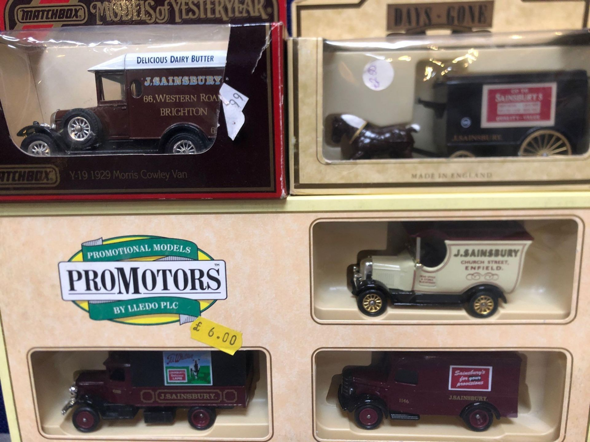 1x Pro Movers Set And 2x Individual Sainsbury's Diecast Vehicles In Own Boxes - Image 2 of 2