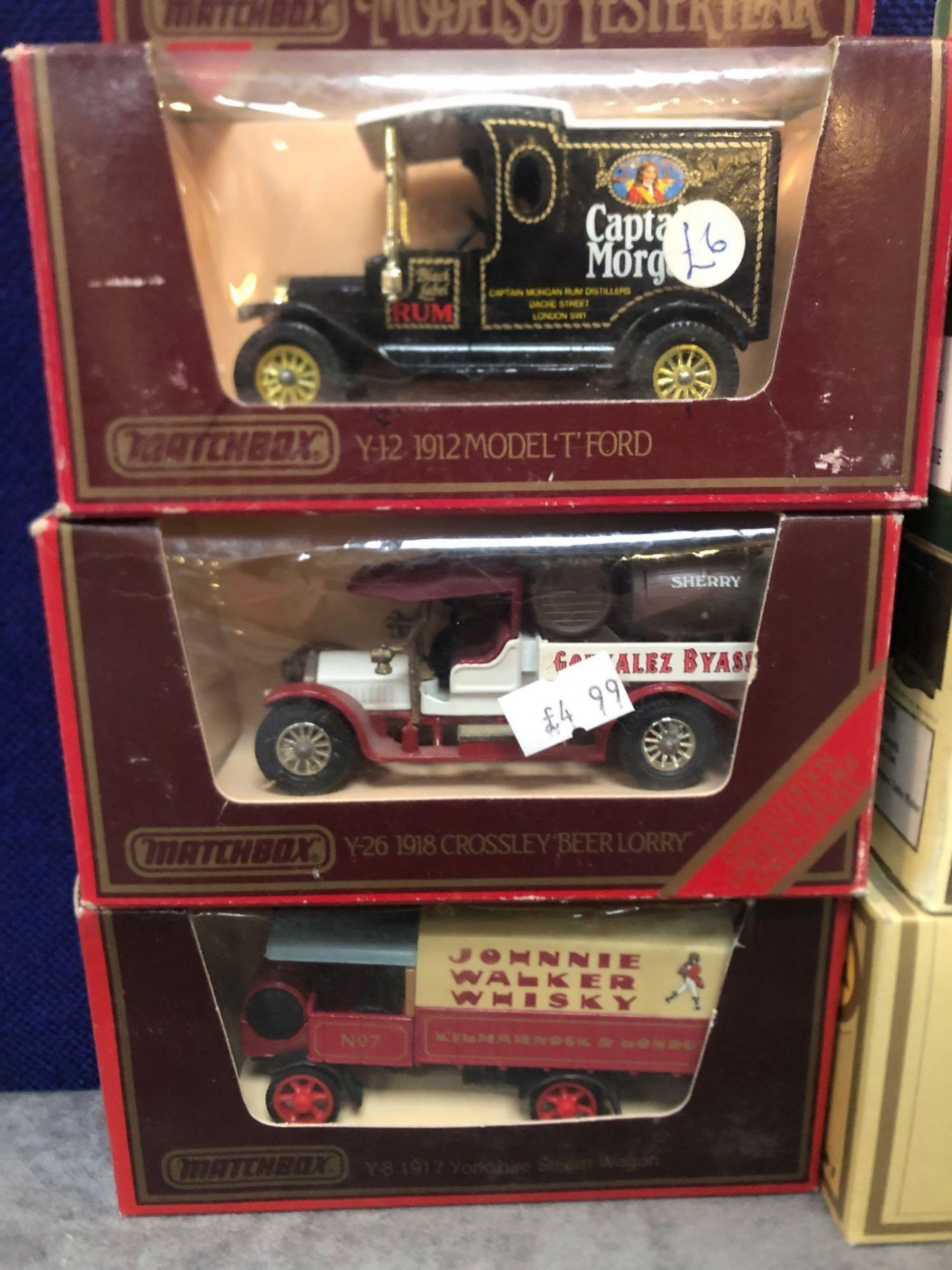 9x Diecast Vehicles All Advertising Drinks In Separate Boxes. - Image 2 of 4